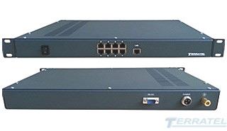 Фото TDMoIP шлюза, Конвертер интерфейса E1 в Ethernet, передача E1 через Ethernet
