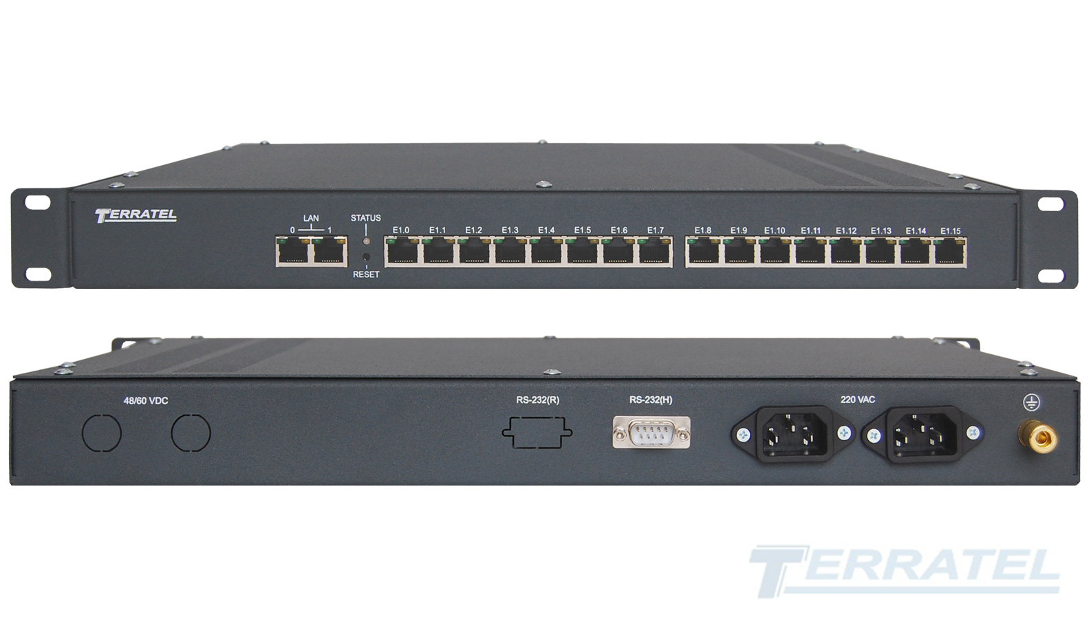 Photo Terratel V5.2 VoIP Gateway, integration to IP, IMS, NGN, codecs G.711, G.723, G.726, G.729, T.38