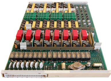 Subscriber line SLU 8C for DX-200