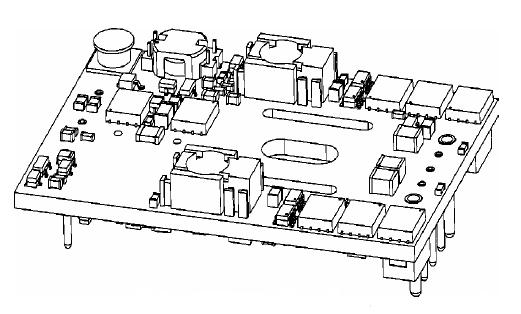 Main Planar Transformer Board circuit
