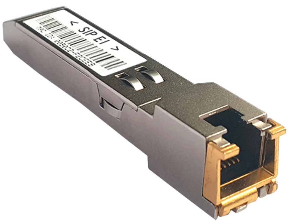 Photo 1xE1 SFP module from Terratel for sharing with Zaptel/Asterisk