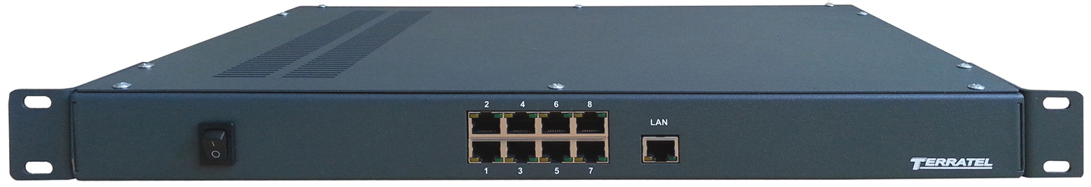Converters TDM over IP for the fixed access networks - TDMoIP appearance
